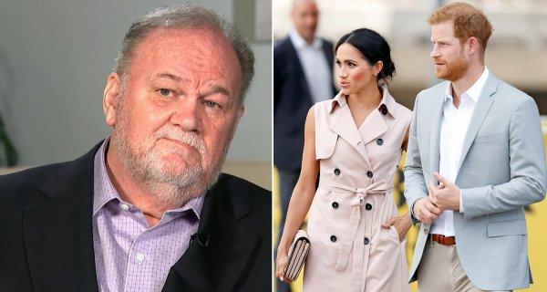 Отец Меган Маркл намерен судиться с королевской семьёй