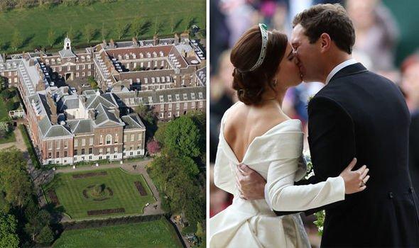 Принцесса Евгения отказалась жить с королевой Елизаветой в одном замке – СМИ