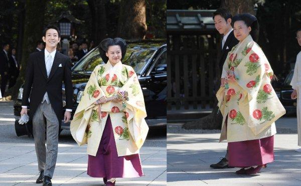 Выйдя замуж за простолюдина, японская принцесса потеряла свой титул