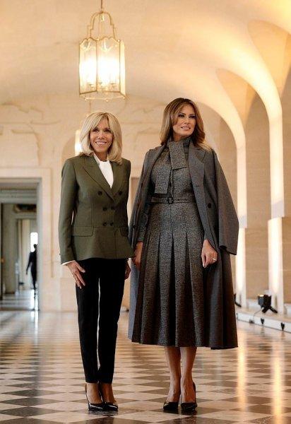 «Как Мэри Поппинс»: Гламурная Мелания Трамп произвела фурор в Париже – СМИ