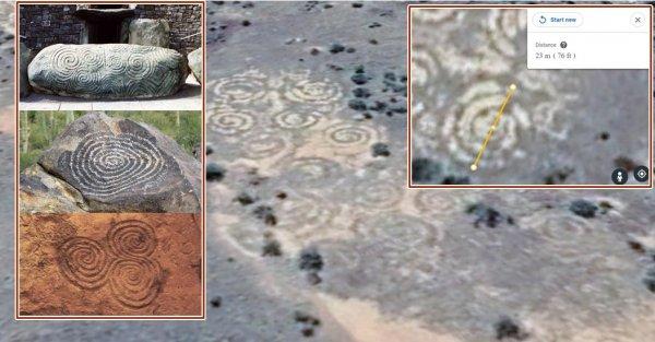 «Творение гуманоидов!»: Уфологи заметили в Австралии огромные спиральные следы