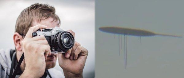 Они уже здесь: Над Нидерландами пролетел гигантский НЛО