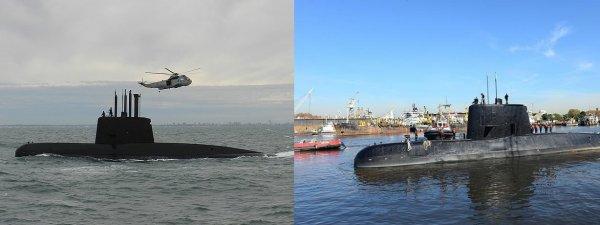 В Аргентине обнаружили затонувшей пропавшую год назад подводную лодку