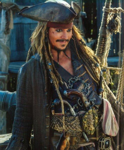 Джонни Деппа в новых «Пиратах Карибского моря» заменят женщиной