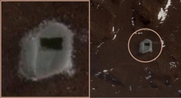 В Антарктиде ученые обнаружили прямоугольный вход в подземную базу инопланетян