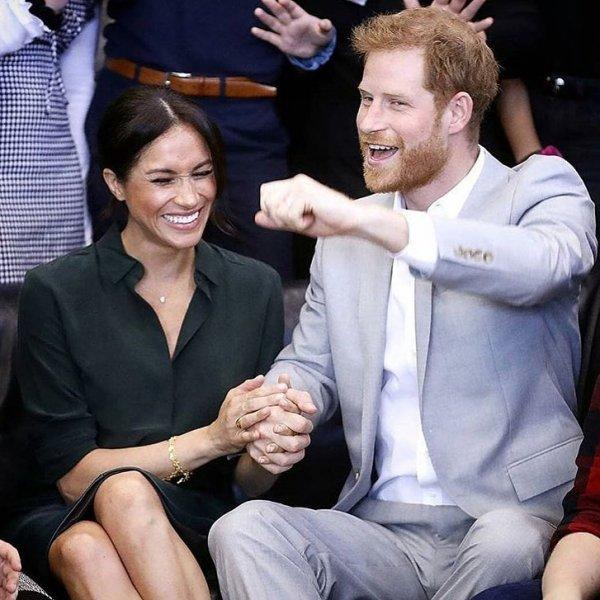 Принц Гарри и Меган Маркл спасли жизнь щенку из приюта
