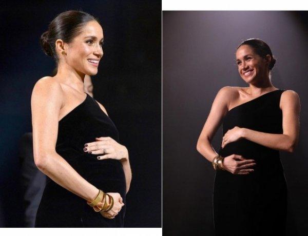 Эксперт объяснила странное поведение беременной Меган Маркл