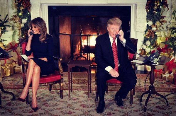 Дональд Трамп высмеял ребенка за веру в Санта-Клауса