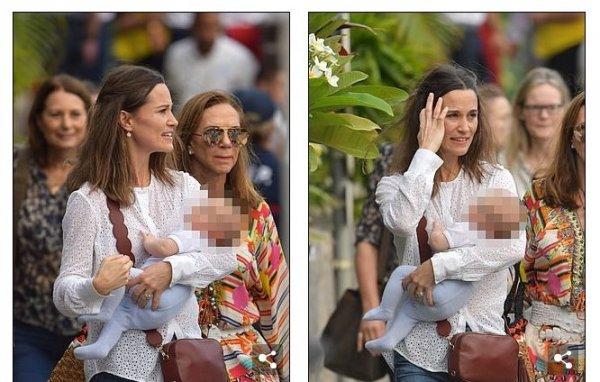 Сестра Кейт Миддлтон впервые публично показала двухмесячного сына – СМИ