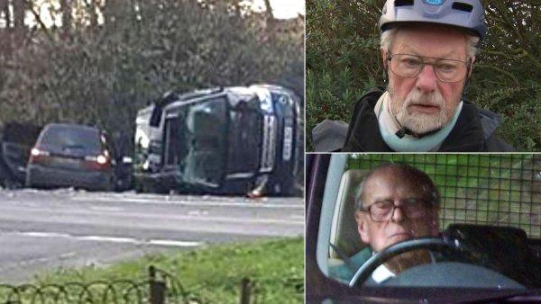Неадекват за рулём: Принц Филипп дважды чуть не попал в ДТП 17 января