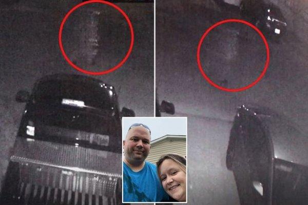 «Ходил, словно Цезарь»: Жуткий призрак попал на камеры в США - очевидцы