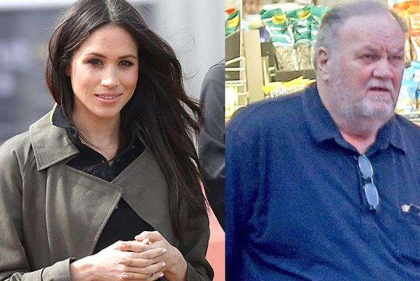 Биограф: Отец Меган Маркл выиграл в лотерею $ 750 000 благодаря дочери