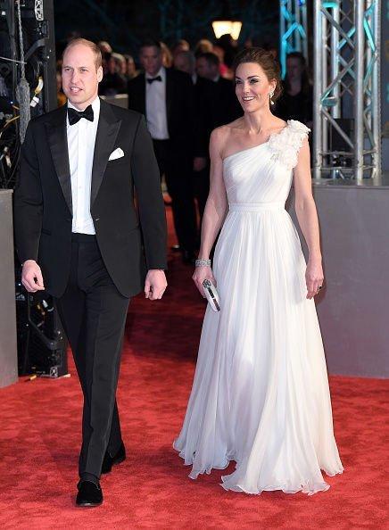 Принц Уильям оконфузился во время церемонии награждения BAFTA