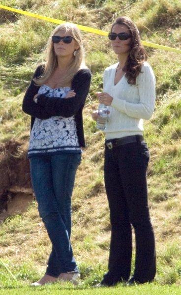 Меган Маркл в бешенстве: Кейт Миддлтон дружит с бывшей возлюбленной принца Гарри