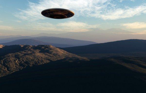 Уфологи засняли сверхскоростной НЛО в Канаде