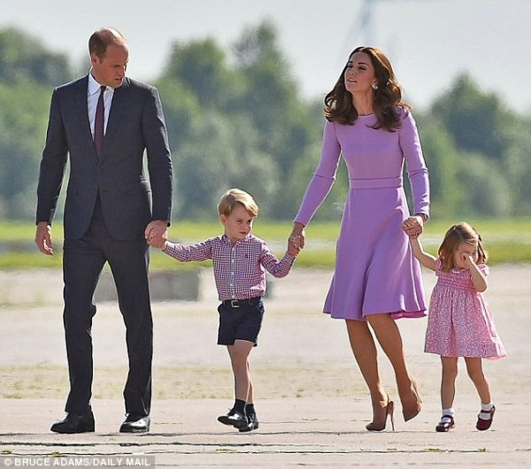Королевские причуды: Дети Кейт Миддлтон полдня провели в роскошном спа-салоне