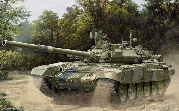 «Ржавая развалюха против гладиатора»: Украинский танк Т-84 не выстоит в бою с российским Т-90С