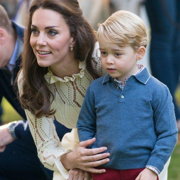 СМИ: Старший сын Кейт Миддлтон и принца Уильяма не знает, что он станет королём