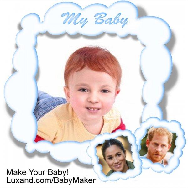 Рыжий и конопатый? Эксперты показали, как будет выглядеть ребенок Меган Маркл и принца Гарри