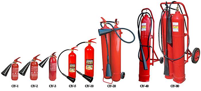 Эффективные углекислотные огнетушители