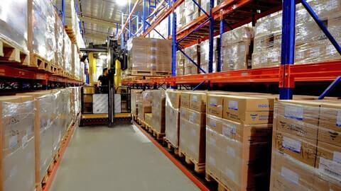 Выгодные условия складского хранения товаров