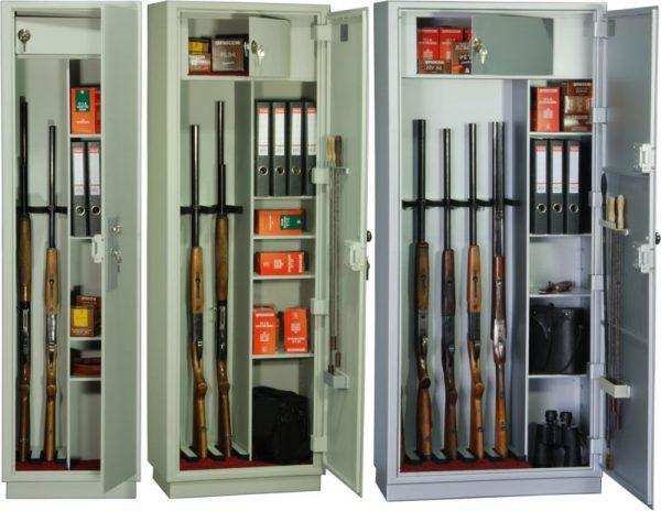 Большой выбор сейфов для оружия и не только