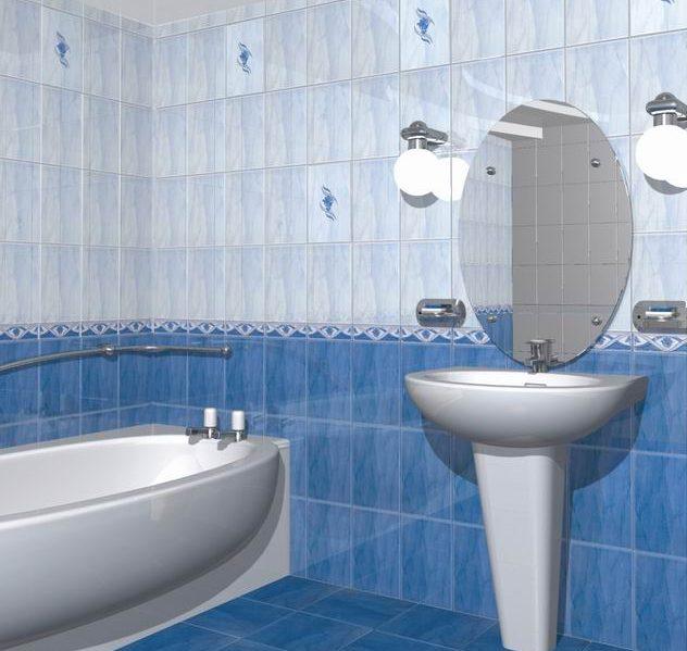 Качественная керамическая плитка для ванной на КЕРАМОГРАНИТ.РУ