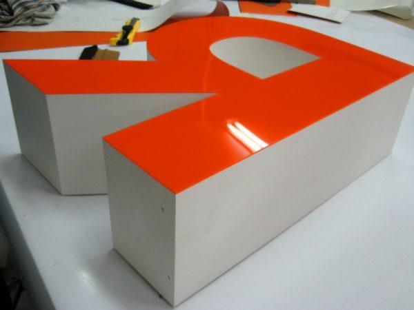 Изготовление объемных букв в Краснодаре