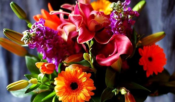Очаровательный букет цветов – лучший подарок