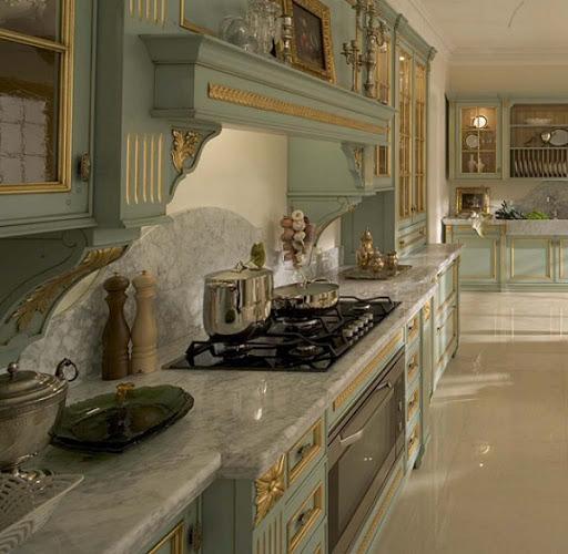 Современная кухня в итальянском стиле