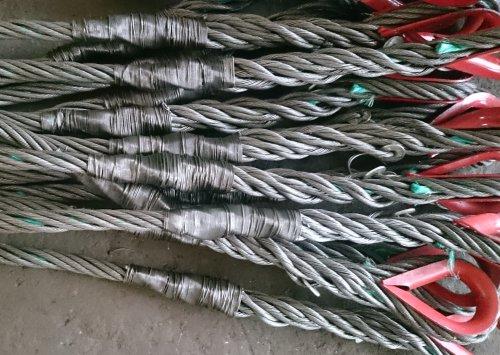 Опрессовка или заплетка канатных стропов в Тюмени