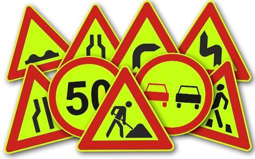 Изготовление дорожных знаков в Санкт-Петербурге с доставкой по всей России