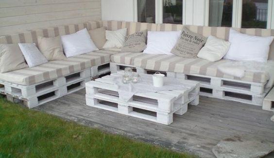 Деревянные изделия и мебель из поддонов для интерьера