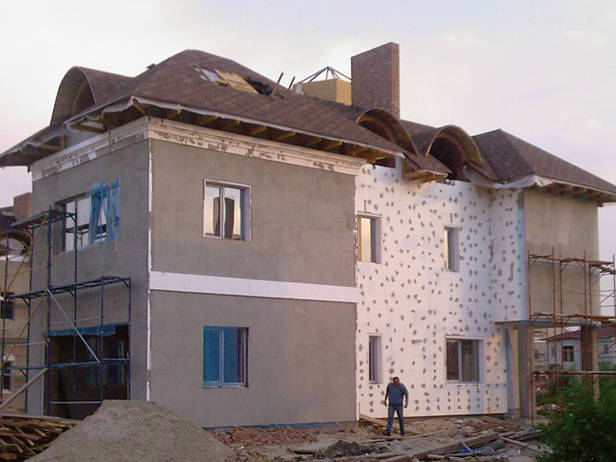 Идеальный пенопласт для утепления фасадов